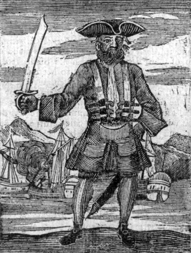Blackbeard Death